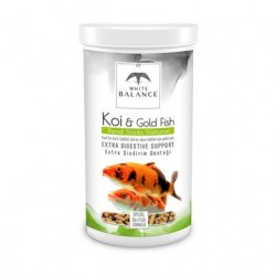White Balance Koi-Gold Fish Pond Sticks Natural 1000 ml