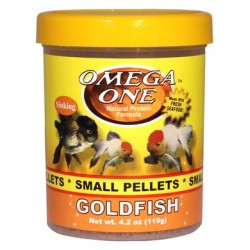 Omega One Goldfish Small Pellets 119gr Profl Japon Balık Yemi